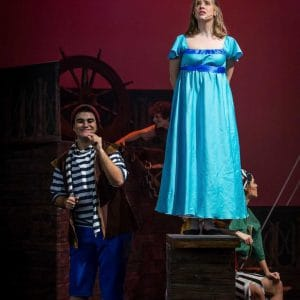 """Peter Pan, el musical"". Teatro Maravillas. Madrid, Malasaña."