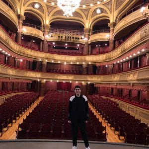 """Pocahontas, el musical"" Teatro Palacio Valdés. Asturias, Aviles."